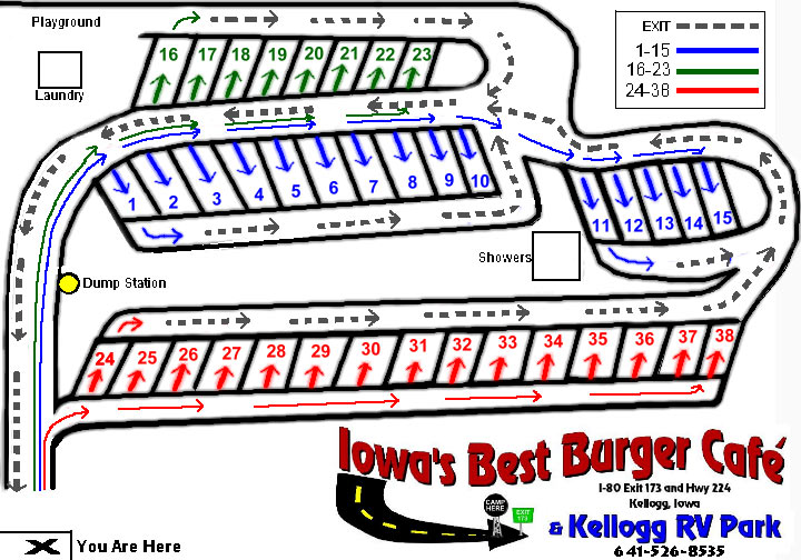 Camping-Near-I80-In-Iowa-Newton-Grinnell-Iowa-Speedway-Map